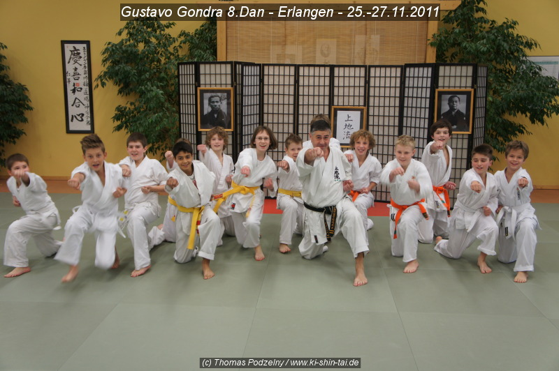Kindergruppe Karate Lehrgang 25.-27.11.2011