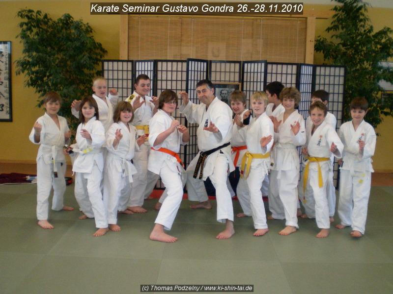Kindergruppe Karate Lehrgang 26.-28.11.2010