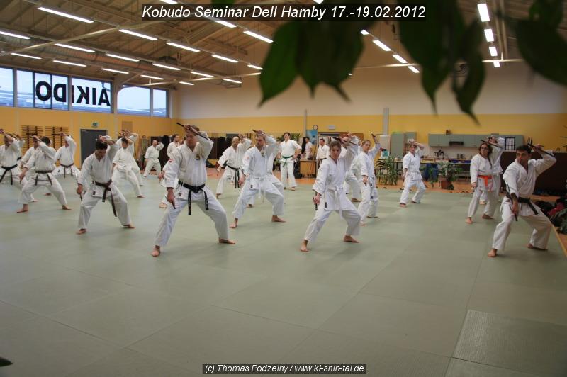 Kobudo Lehrgang 17.-19.02.2012