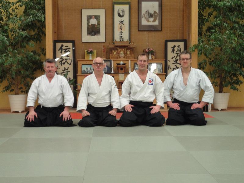 Gruppenfoto Aikido Shinnenkai 2012