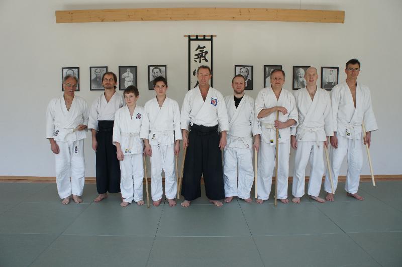Gruppenfoto 2. Aikido Intensiv