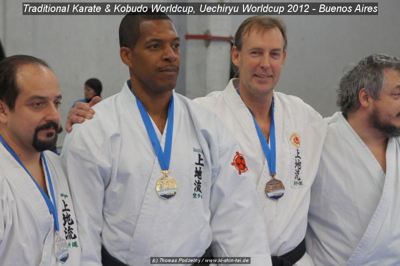 Thomas Podzelny, 3. Platz Bronze Karate Kata beim 'Uechiryu Worldcup'