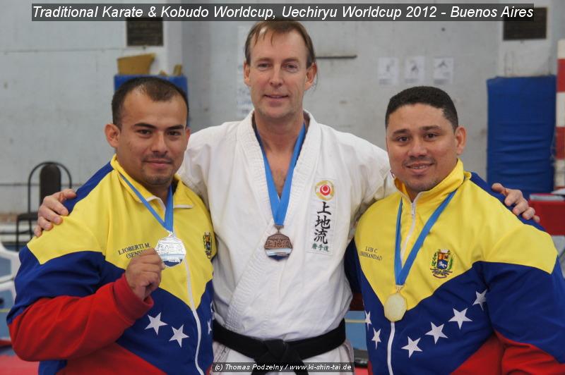Thomas Podzelny, 3. Platz Bronze Kobudo Kata beim 'Uechiryu Worldcup'