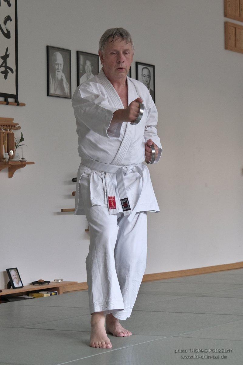 Kobudo Besuch Andreas Schwalbach September 2021