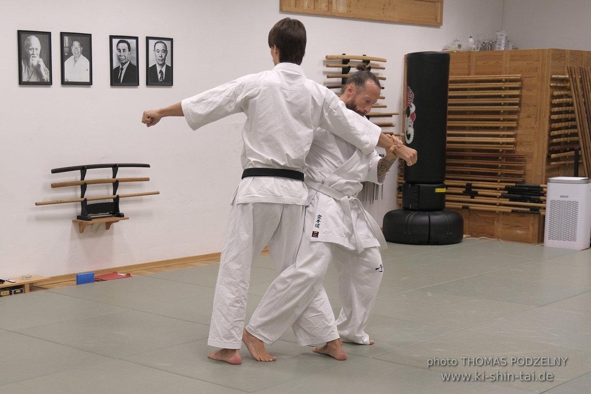 Karate Kobudo Uchideshi September 2021 Georg Platzer
