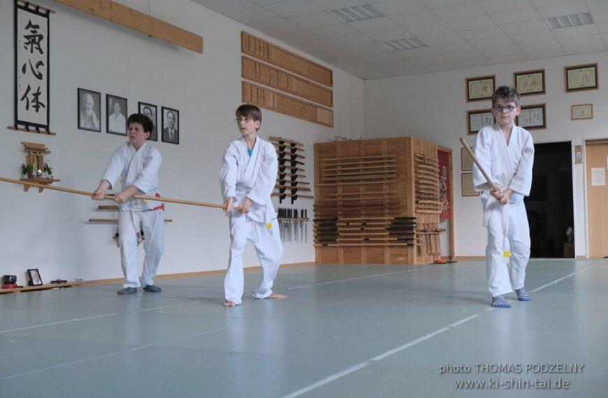 Aikidô Kids Kyû Prüfungen 2.7.2020