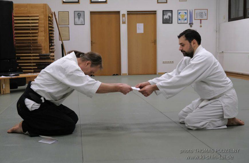 Aikidô Kyû Prüfung 20.2.2020