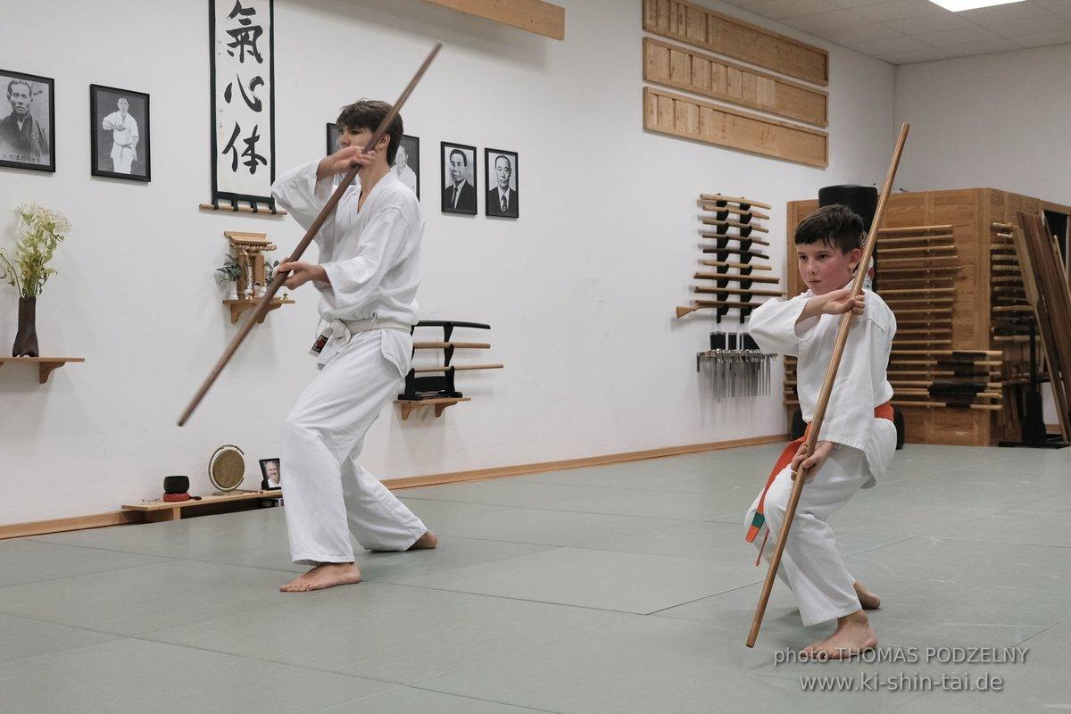 Kobudô Kyû Prüfungen 1.2.2019