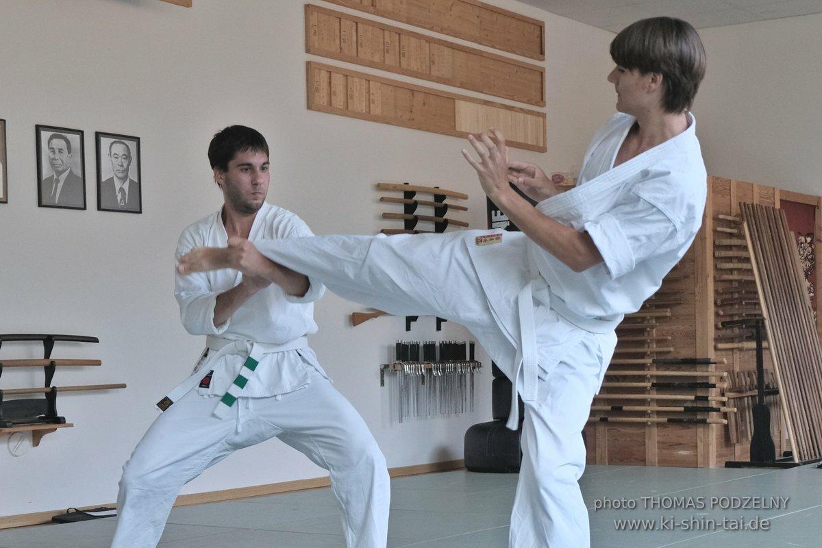 Karate und Kobudô Kyû Prüfungen 24.7.2019