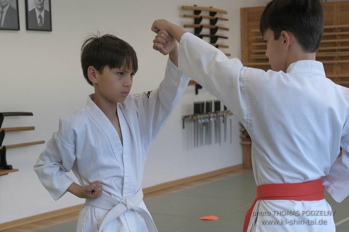 Karate Kids Kyû Prüfung 29.6.2020