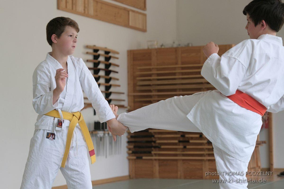 Karate Kids Kyû Prüfung 24.7.2020