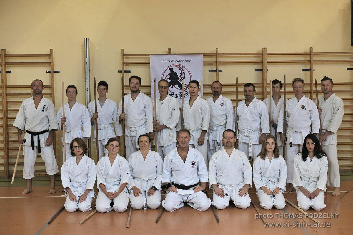 Kobudô Lehrgang mit Thomas Podzelny 5.Dan in Krakau – September 2019