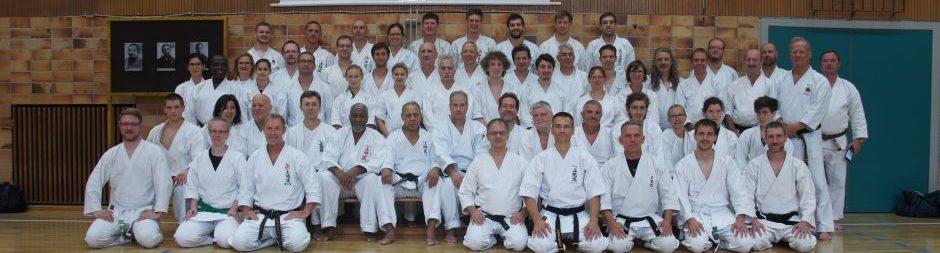 Karate Lehrgang mit James Thompson 10.Dan in Bad Kissingen 2017