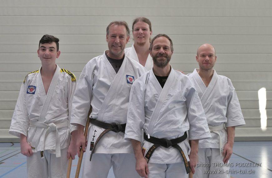 Aikidô Lehrgang mit Volker Hochwald Shihan in Buchloe – März 2020